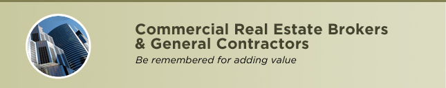 Commercial Real Estate Brokers & General Contractors